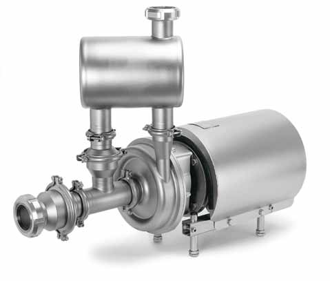 LKH self priming centrfiugal pump image