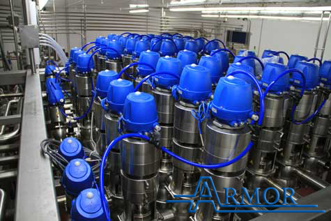 Mix-proof valve cluster Armor Industries image