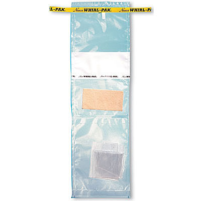 18-oz. Whirl-Pak speci-sponge environmental surface sampling bag with sterile glove image